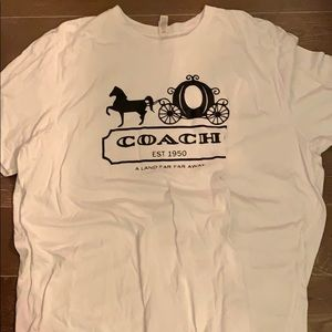 Disney coach shirt